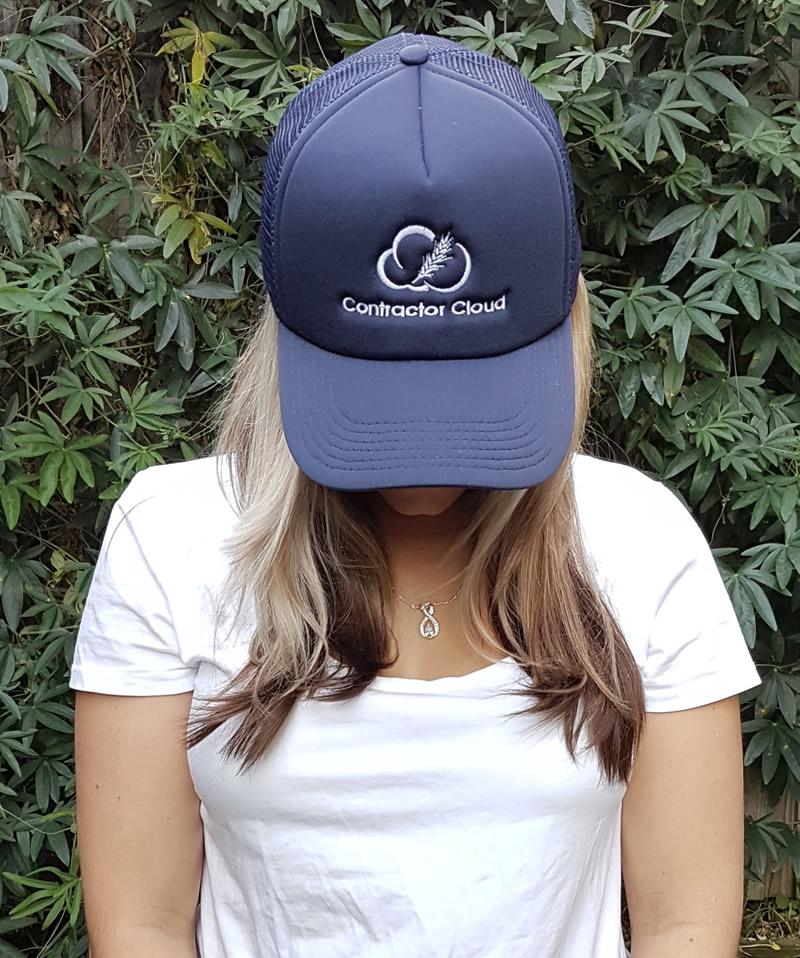Trucker Cap – Blue
